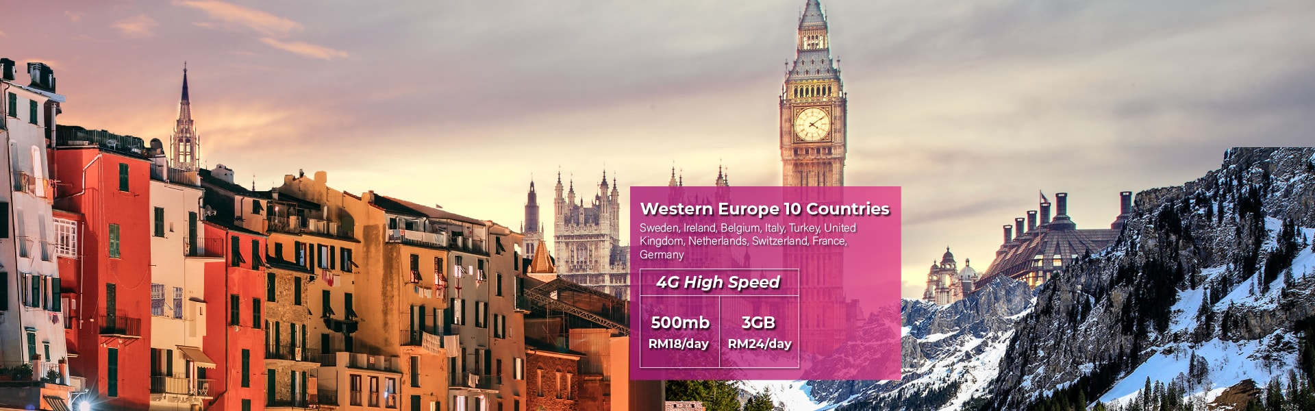 Europe new package