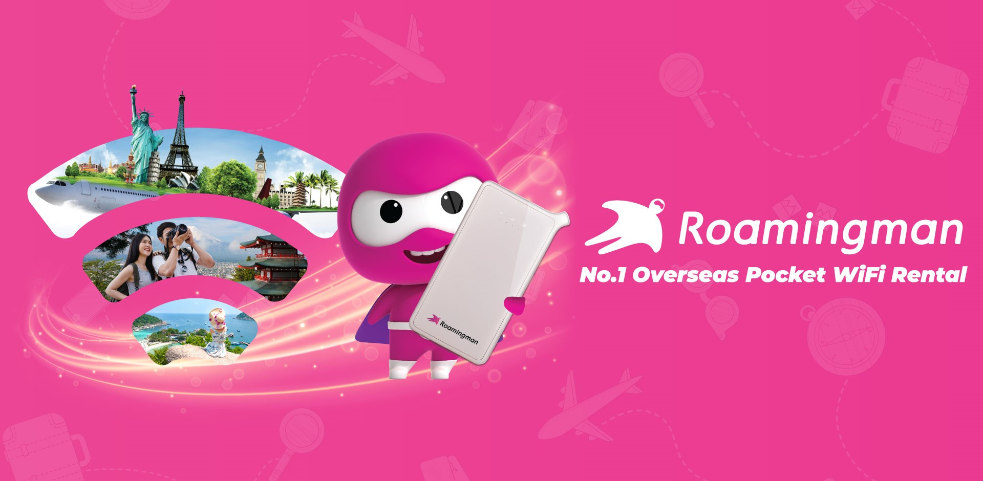 No.1 Overseas Pocket Wifi