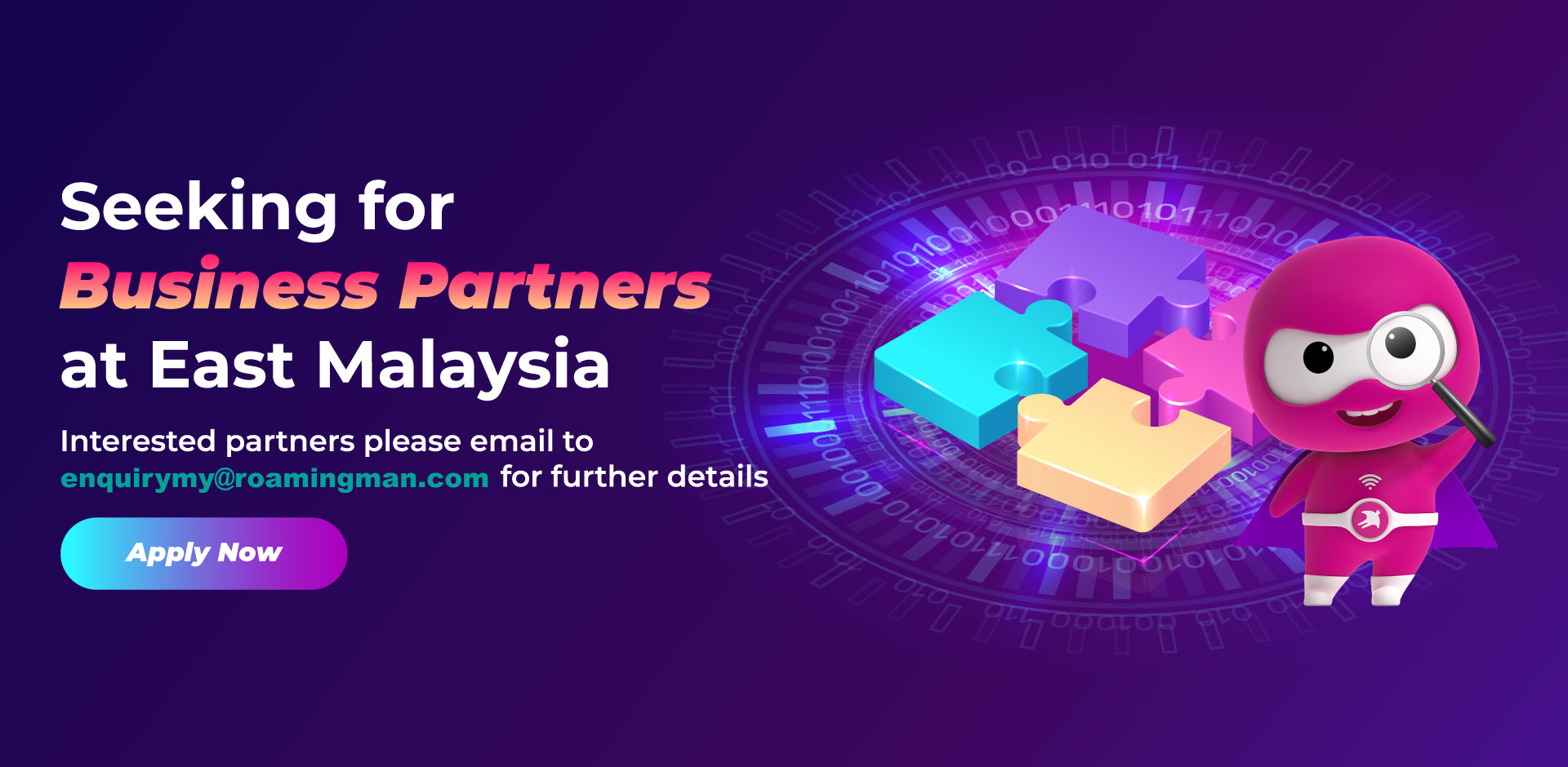 Seeking for East Malaysia Business Partner